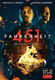 locandina del film FAHRENHEIT 451 (2018)