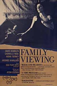 locandina del film FAMILY VIEWING