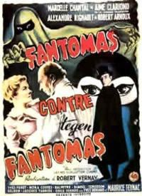 locandina del film FANTOMAS CONTRO FANTOMAS (1949)