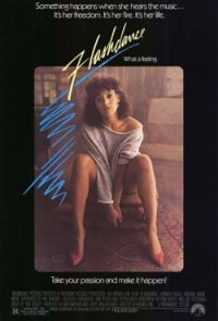 locandina del film FLASHDANCE