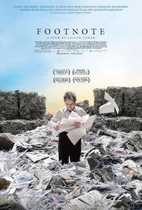 locandina del film FOOTNOTE