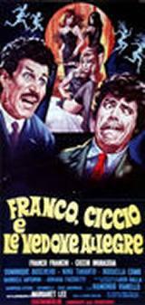 locandina del film FRANCO, CICCIO E LE VEDOVE ALLEGRE