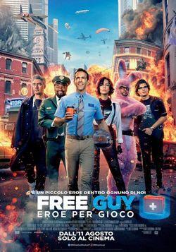 locandina del film FREE GUY - EROE PER GIOCO
