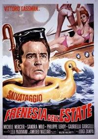 locandina del film FRENESIA DELL'ESTATE