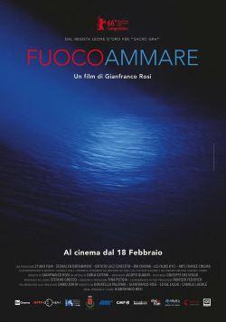 locandina del film FUOCOAMMARE