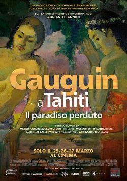 locandina del film GAUGUIN A TAHITI. IL PARADISO PERDUTO