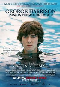 locandina del film GEORGE HARRISON: LIVING IN THE MATERIAL WORLD
