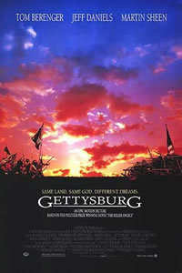 locandina del film GETTYSBURG