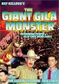 locandina del film GIANT GILA MONSTER
