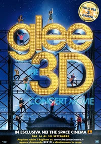 locandina del film GLEE 3D CONCERT MOVIE