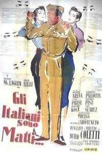 locandina del film GLI ITALIANI SONO MATTI