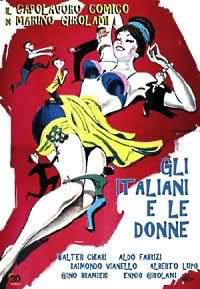 locandina del film GLI ITALIANI E LE DONNE