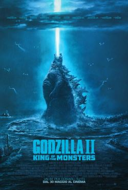 locandina del film GODZILLA II - KING OF THE MONSTERS
