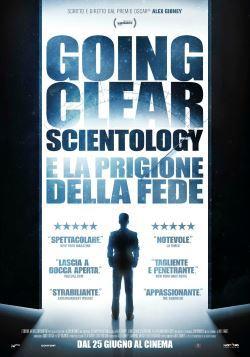 locandina del film GOING CLEAR: SCIENTOLOGY E LA PRIGIONE DELLA FEDE