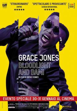 locandina del film GRACE JONES: BLOODLIGHT AND BAMI