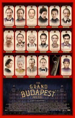 locandina del film GRAND BUDAPEST HOTEL