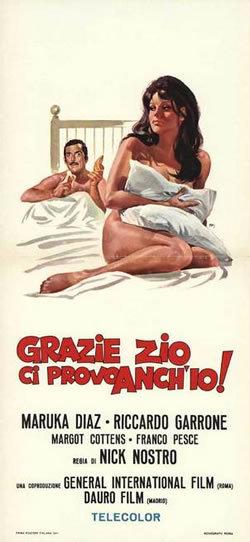 locandina del film GRAZIE ZIO, CI PROVO ANCH'IO!