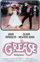 locandina del film GREASE (BRILLANTINA)