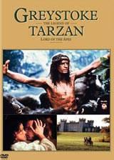 locandina del film GREYSTOKE - LA LEGGENDA DI TARZAN, IL SIGNORE DELLE SCIMMIE