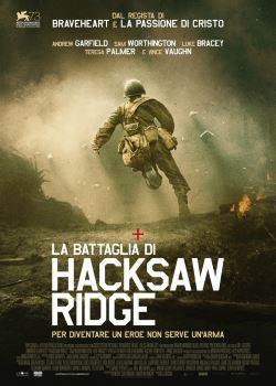 locandina del film LA BATTAGLIA DI HACKSAW RIDGE