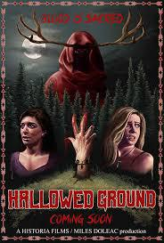 locandina del film HALLOWED GROUND (2019)