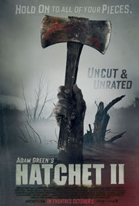 locandina del film HATCHET 2