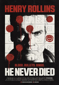 locandina del film HE NEVER DIED