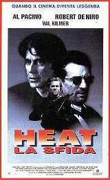 locandina del film HEAT - LA SFIDA