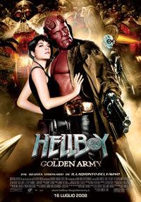 locandina del film HELLBOY 2: THE GOLDEN ARMY