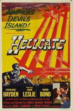 locandina del film HELLGATE, IL GRANDE INFERNO