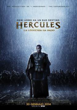 locandina del film HERCULES - LA LEGGENDA HA INIZIO