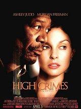 locandina del film HIGH CRIMES - CRIMINI DI STATO