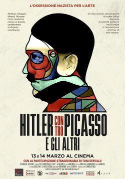 locandina del film HITLER CONTRO PICASSO E GLI ALTRI