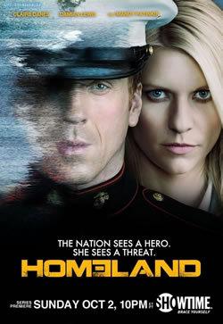 locandina del film HOMELAND - CACCIA ALLA SPIA - STAGIONE 1
