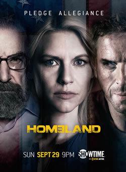 locandina del film HOMELAND - CACCIA ALLA SPIA - STAGIONE 3