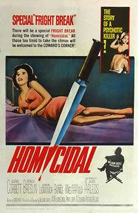 locandina del film HOMICIDAL