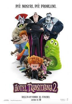 locandina del film HOTEL TRANSYLVANIA 2