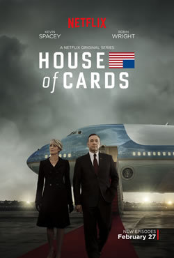 locandina del film HOUSE OF CARDS - STAGIONE 3