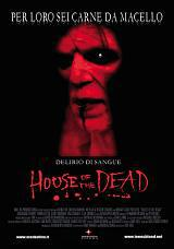 locandina del film HOUSE OF THE DEAD