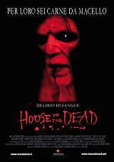 locandina del film HOUSE OF THE DEAD