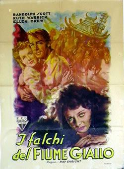 locandina del film I FALCHI DEL FIUME GIALLO