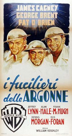 locandina del film I FUCILIERI DELLE ARGONNE