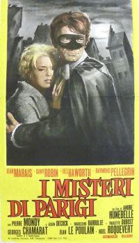 locandina del film I MISTERI DI PARIGI