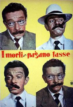 locandina del film I MORTI NON PAGANO LE TASSE