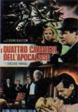 locandina del film I 4 CAVALIERI DELL'APOCALISSE (1921)