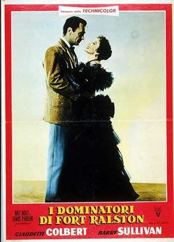 locandina del film I DOMINATORI DI FORT RALSTON