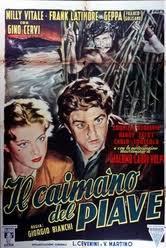 locandina del film IL CAIMANO DEL PIAVE