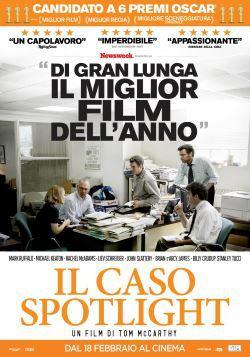 locandina del film IL CASO SPOTLIGHT