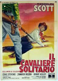 locandina del film IL CAVALIERE SOLITARIO
