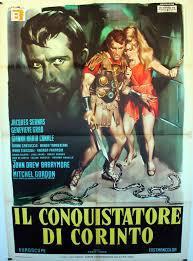 locandina del film IL CONQUISTATORE DI CORINTO